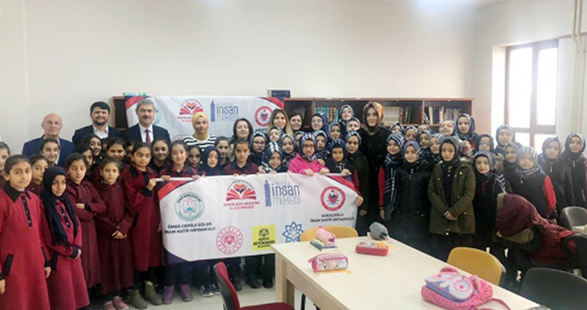 Konya'da 2020 hedefinde kardeş okullar el ele