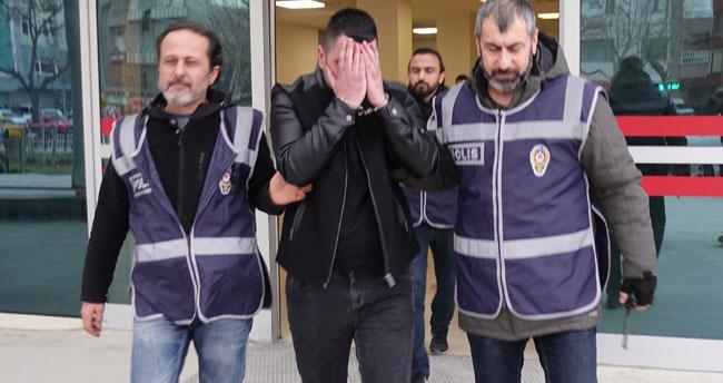 Konya' da arkadaşından şantajla para istediği iddiasıyla yakalanan zanlı serbest bırakıldı