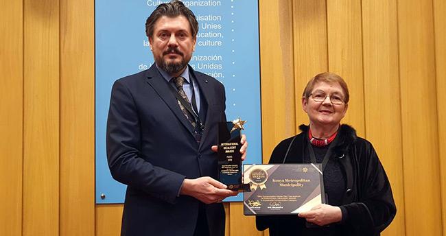"""Konya'nın """"Bisiklet Master Planı""""na uluslararası ödül"""