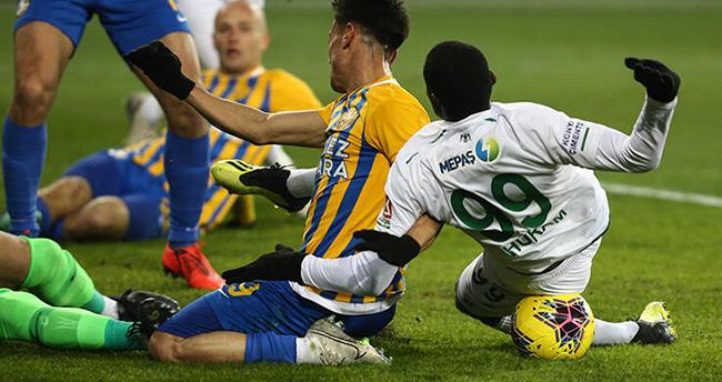 Konyaspor'dan galibiyet