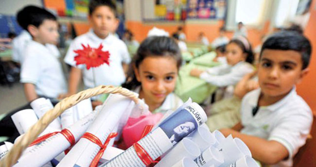 Konya'da 458 bin öğrenci karne aldı