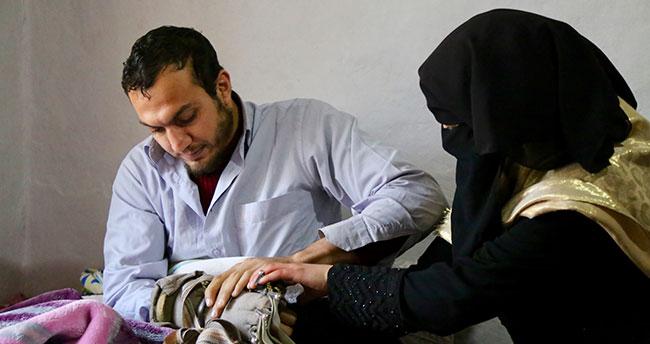 Suriyeli Ayşe'den engelli eşine büyük vefa