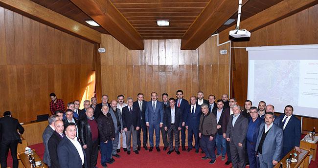 Başkan Altay, oda başkanlarıyla metro ve banliyö hattını istişare etti