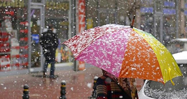 Konya'da aralıklı hafif kar yağışı bekleniyor! Buzlanma ve dona dikkat