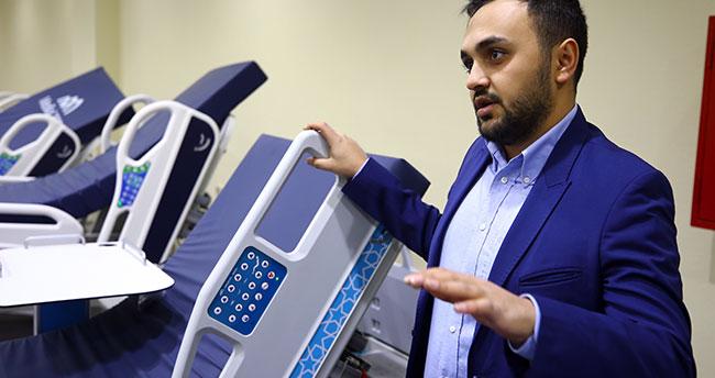 Yerli imkanlarla üretilip Konya'dan 67 ülkeye hasta yatağı ihraç ediliyor
