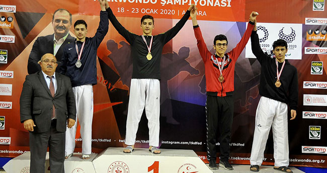 Selçuklu Belediyespor'dan Türkiye Şampiyonası'nda altın madalya