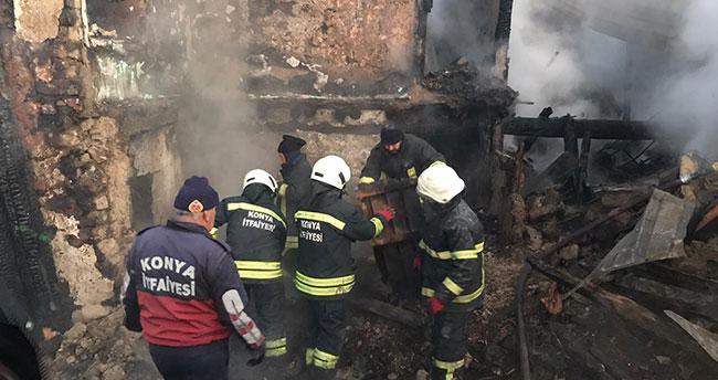 Konya'da yangın faciası: aynı aileden 3 ölü!