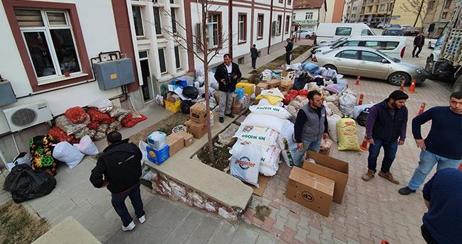 Ilgın'dan deprem bölgesine yardım