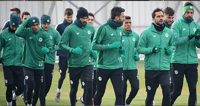 İttifak Holding Konyaspor Antalyaspor maçı hazırlıklarına başladı