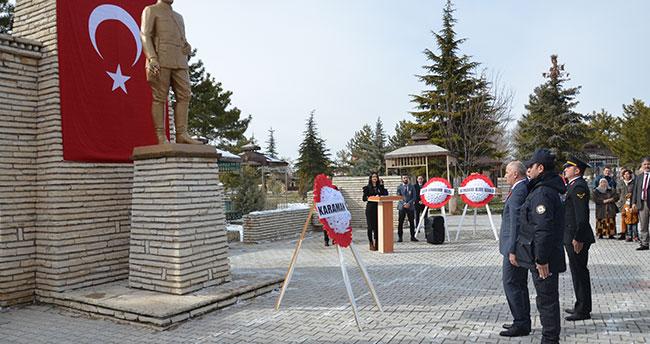 Kazım Karabekir vefatının 72. yılında Karaman'da anıldı