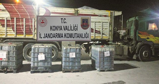 Konya'da jandarma'dan kaçak akaryakıt operasyonu! Şüpheliler serbest bırakıldı