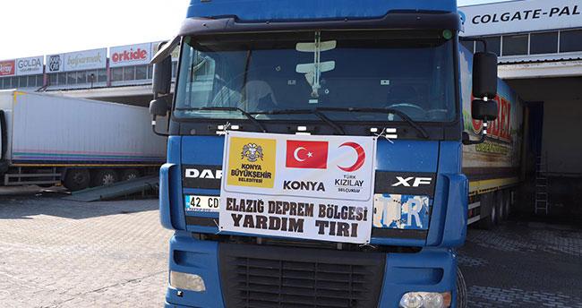 Büyükşehir'den deprem bölgesine destek devam ediyor
