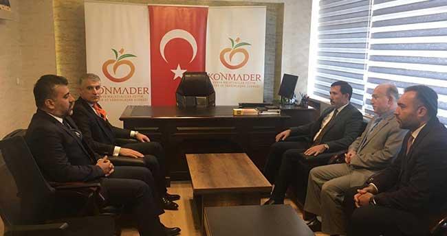 Hasan Kılca, Konya'daki Elazığ ve Malatya derneklerini ziyaret etti