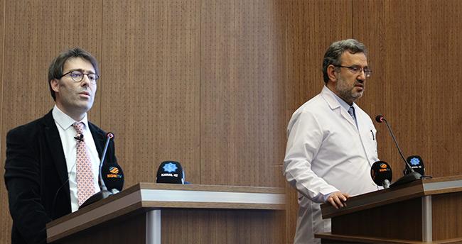 Meram Tıp Fakültesi'nde koronavirüs ile ilgili bilgilendirme toplantısı yapıldı