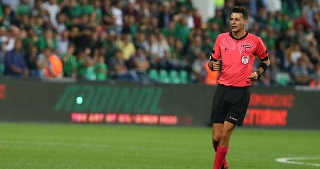 Konyaspor Göztepe maçının hakemi belli oldu