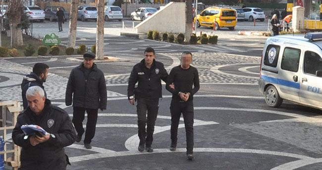 Konya'da boşandığı karısını bıçakla yaralayan şüpheli tutuklandı