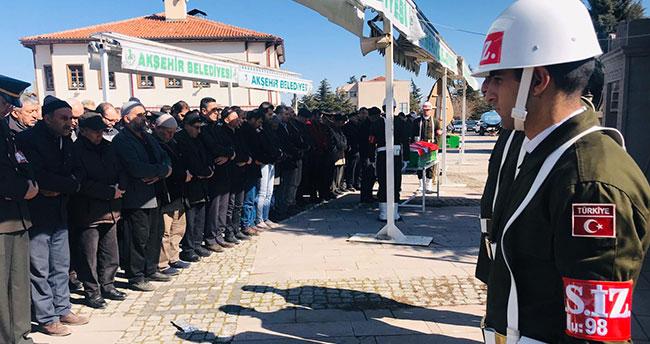 Kıbrıs Gazisi Yiğit Akşehir'de defnedildi