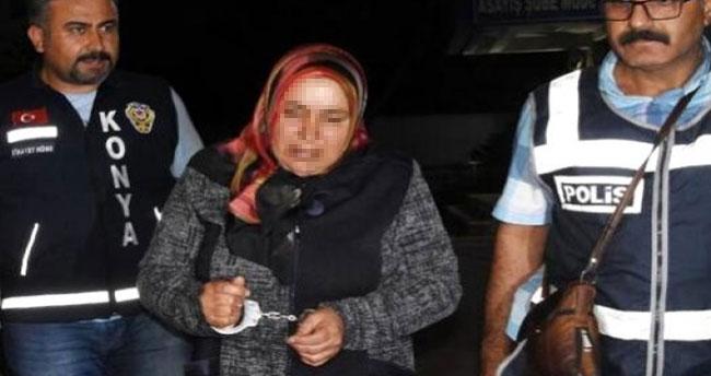 Konya'da tartıştığı eşini keserle öldüren kadın için ağırlaştırılmış müebbet istemi