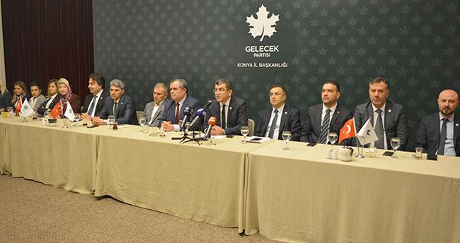 Gelecek Partisi Konya İl Yönetimi tanıtıldı