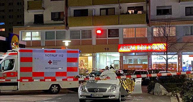Almanya'da silahlı saldırılar: 11 ölü