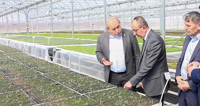 Konya için atılmış en önemli adımlardan biri: Sebze Fidesi Üretim Tesisi