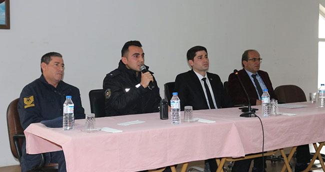 Konya Kulu'da lise öğrencilerine yönelik seminer düzenlendi