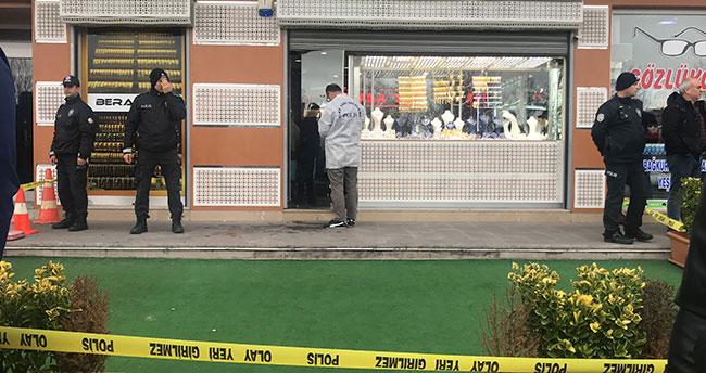 Konya'da kuyumcu soygunu yaşandı