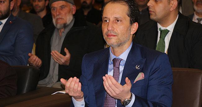 Yeniden Refah Partisi Genel Başkanı Fatih Erbakan, Konya'da babası Necmettin Erbakan'ı anlattı