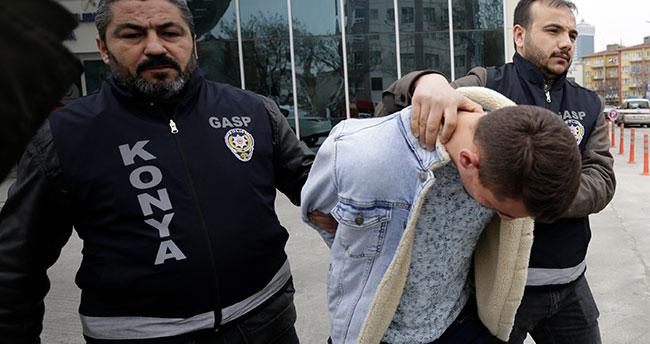 Geceyi camide geçirmişler! Konya'da pompalı tüfekle kuyumcu soyan iki şüpheli yakalandı