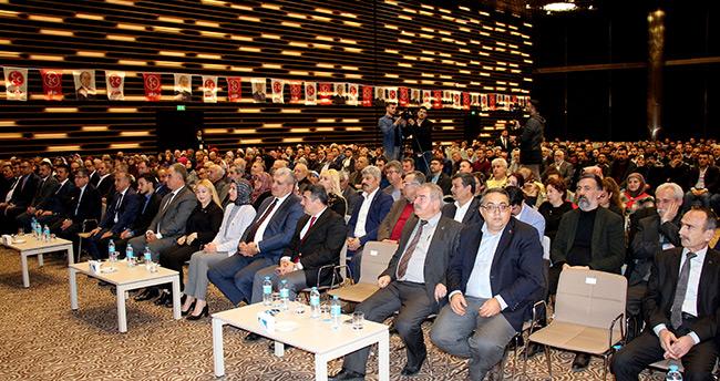 "Konya'da ""Payitaht'tan Turan'a Hedef Kızıl Elma Üye katılım"" programı düzenlendi"