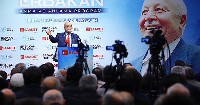 """Saadet Partisi Genel Başkanı Karamollaoğlu: """"Biz adaleti tesis etmek mecburiyetindeyiz"""""""