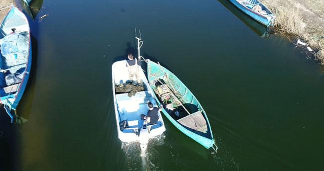 Yasa dışı elektroşokla avcılık yapanlara karadan ve havadan denetimlerle göz açtırılmıyor