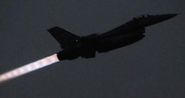 Türk savaş uçakları hava sahası engelini böyle aştı