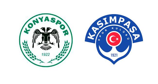 Konyaspor-Kasımpaşa mücadelesi 0-0 sona erdi