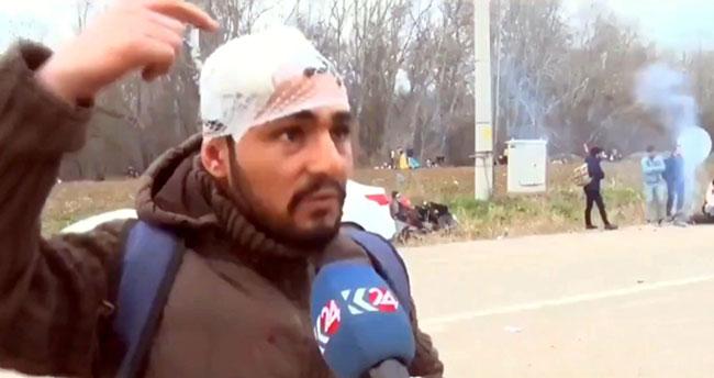 Yunan polisinden dayak yiyen Konyalı: Küt pat pat pat sıktılar