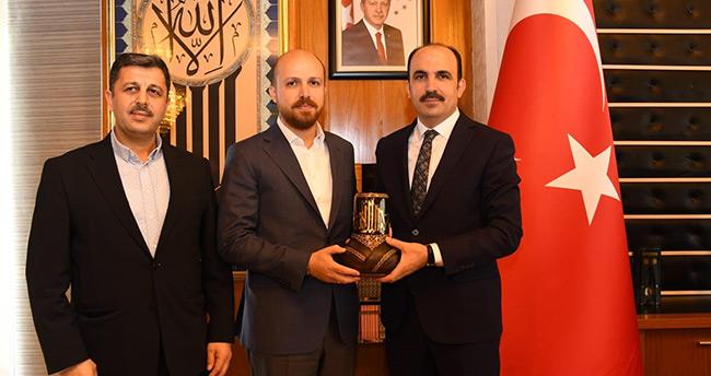 Bilal Erdoğan'dan Konya Büyükşehir Belediye Başkanı Altay'a ziyaret