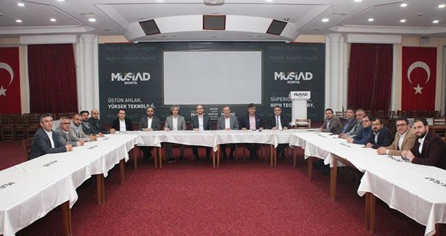 MÜSİAD Konya, Konya Savunma Sanayi A.Ş. yöneticilerini ağırladı