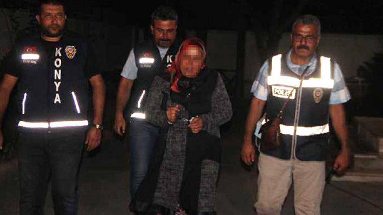 Konya'da tartıştığı eşini keserle öldüren kadına 15 yıl hapis cezası verildi