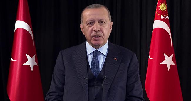 Başkan Erdoğan ulusa sesleniş konuşması yaptı