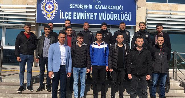 Seydişehir'de çarşı ve mahalle bekçileri göreve başladı