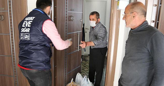 112 hattı virüs mücadelesinde Meramlıların yanında