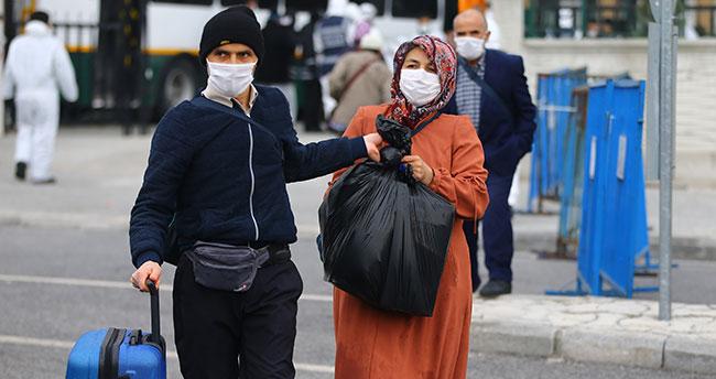 Konya'da umre dönüşü karantinaya alınanlardan bazıları tahliye edildi