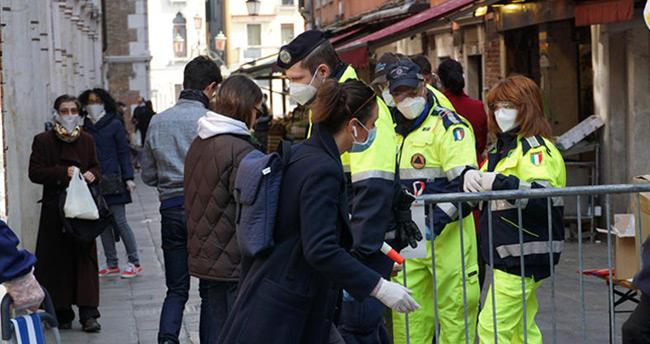 İtalya'da son 24 saatte 681 ölüm