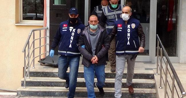 Konya'da tabancayla 3 kişiyi öldüren zanlı tutuklandı! Halüsinasyon görmüş!