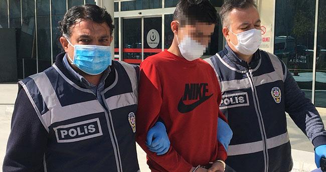 Konya'da kapkaç şüphelisini, çaldığı telefonu satarken verdiği kimlik bilgileri yakalattı
