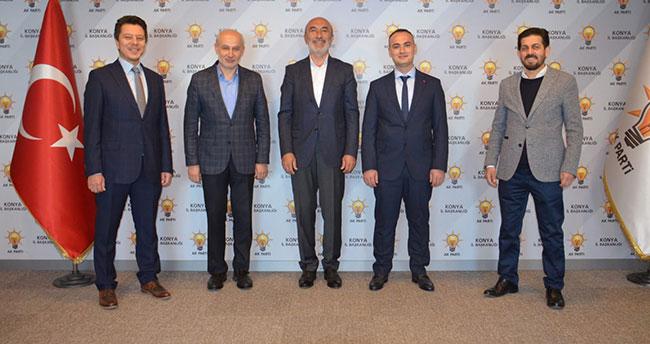 AK Parti'de ilçe başkanı atamaları yapıldı