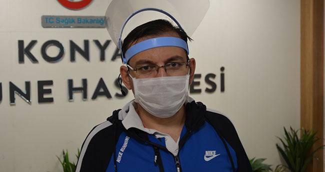 Konya'da koronavirüsü yenen sağlık çalışanı tedavi sürecini anlattı