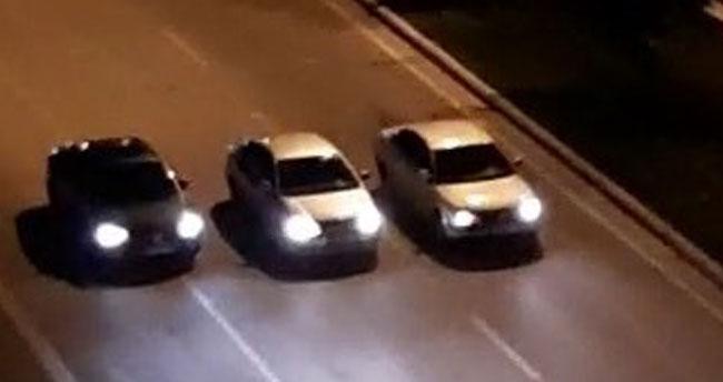 Konya'da yarış yapan 4 otomobil sürücüsüne 598'er lira ceza