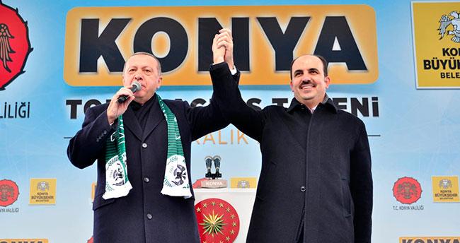 Başkan Altay: Cumhurbaşkanımızın Konya'ya müjdeleri var