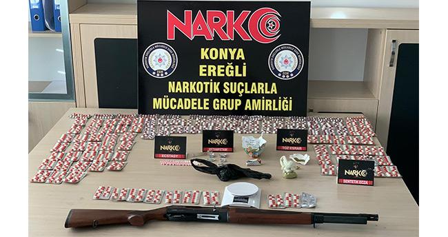 Ereğli'de uyuşturucu operasyonu: 6 gözaltı